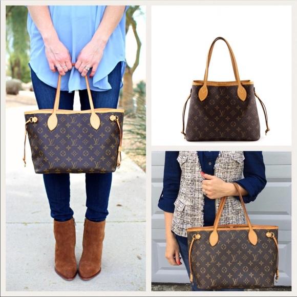 Louis Vuitton Handbags - Authentic Louis Vuitton Neverfull PM Monogram Tote f593946b19d3f